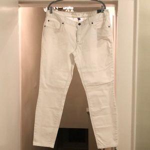 Eddie Bauer white jeans. NWT. Size 16